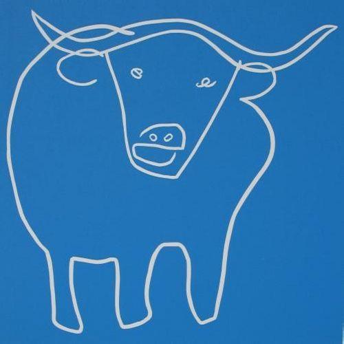 Standing Bull by Jane Bristowe