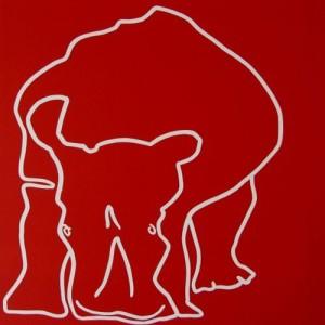Rhino Head Down