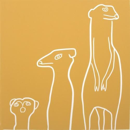 Meerkats by Jane Bristowe