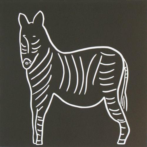 Zebra Side On