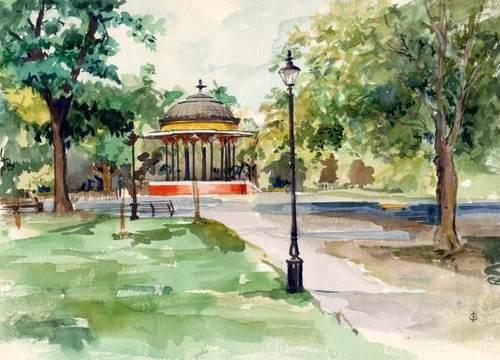 Bandstand - Clapham Common Lon002