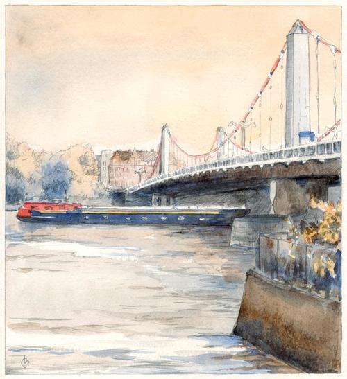64 bridge chelsea Print